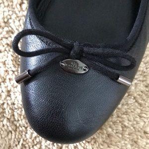 Coach Shoes - Coach leather ballet flats size 10